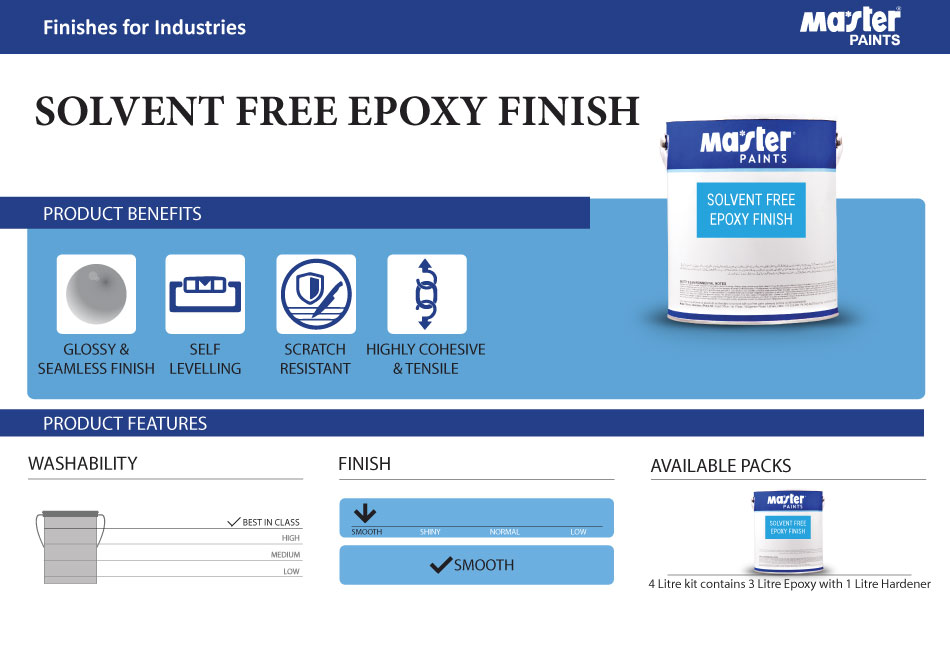 Sep - Solvent Free Epoxy