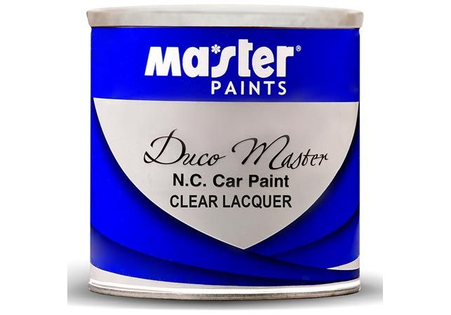 N C Clear Lacquer Master Paints