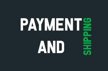 Payment & Shipping
