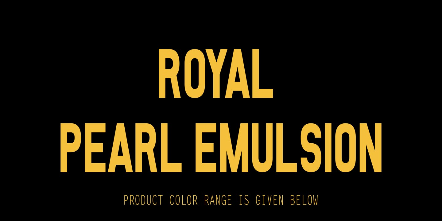 Master Royal Pearl Emulsion
