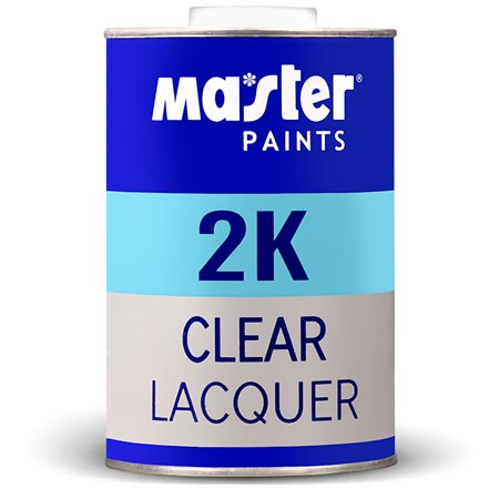 2K Clear Lacquer Set