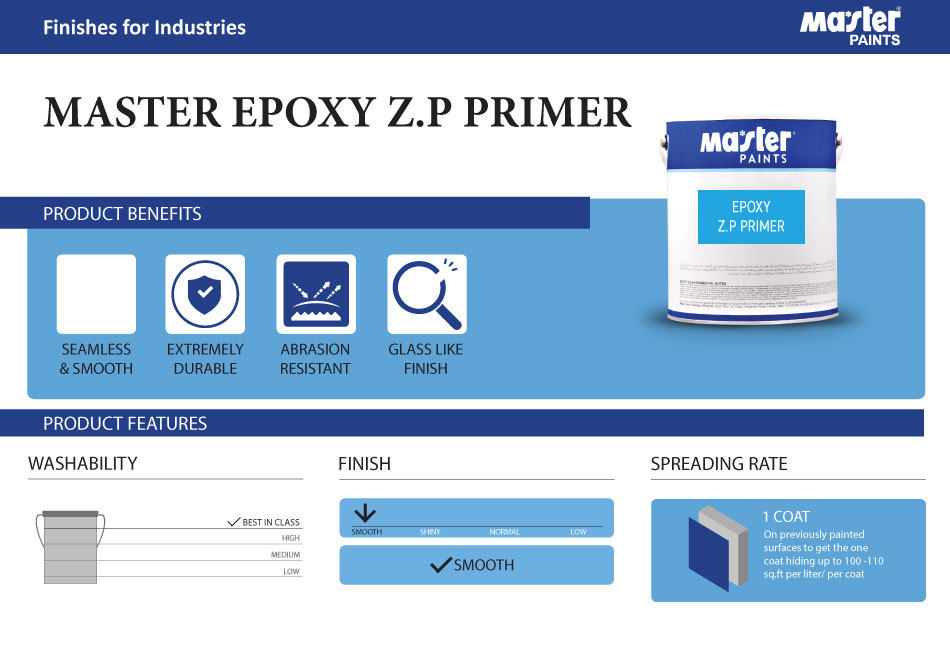 Sep - Epoxy ZP Primer Red Oxide