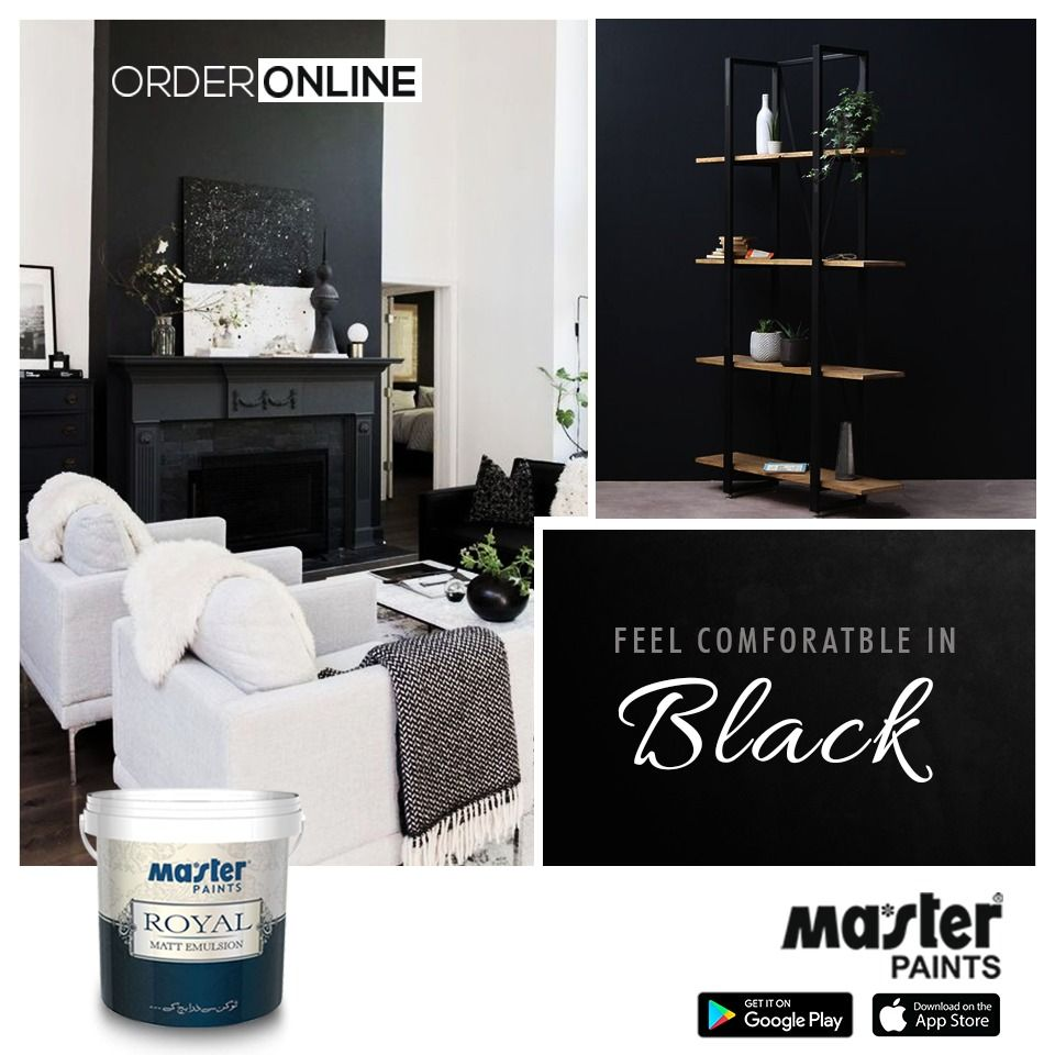 Black Color by Master Paints